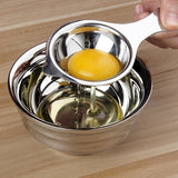 Kitchen Material Stainless Steel Egg Yolk Separator Used To Make Cake NEW