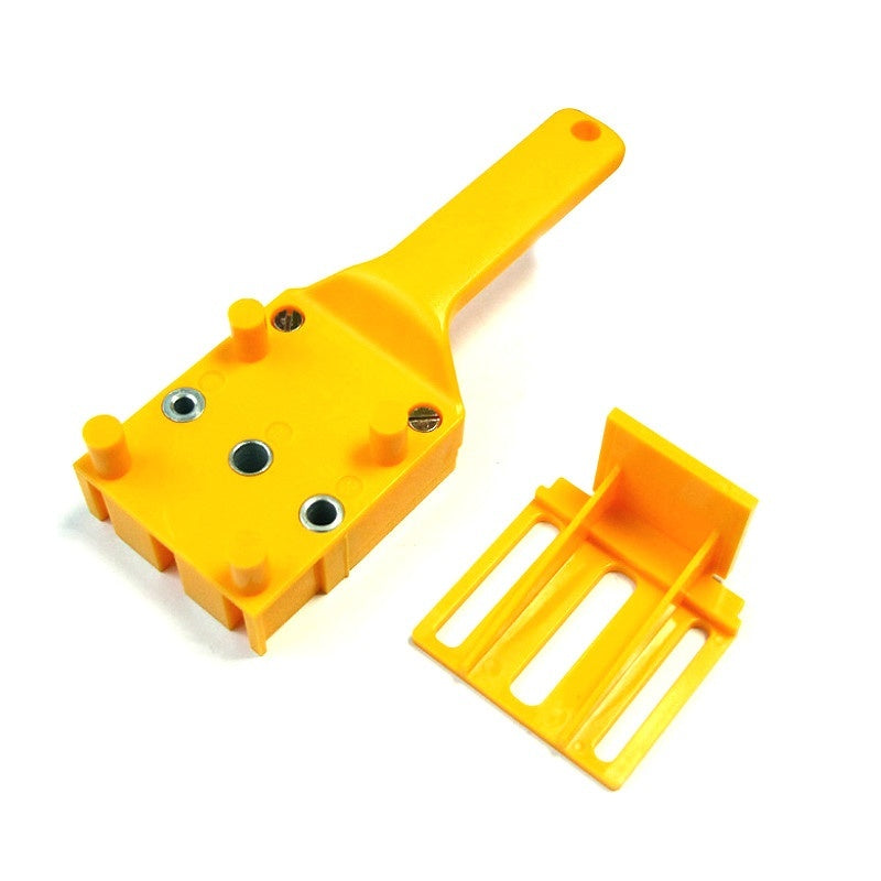 NEW Dowel Jig 6 8 10mm Wood HSS Drill Bits Woodworking Jig ABS Plastic pocket hole jig Drill Guide Tool For Carpentry