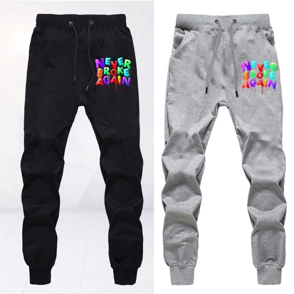 Rapper YoungBoy Never Broke Again Trousers Unisex Fashion Cotton Drawstring Long Pants Casual Daily Jogging Trousers