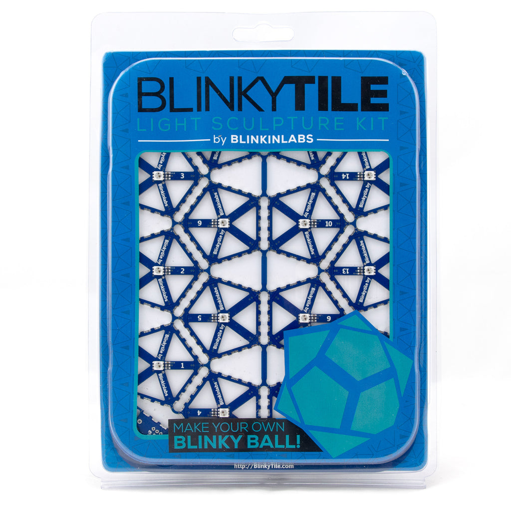 BlinkyTile Light Sculpture Kit
