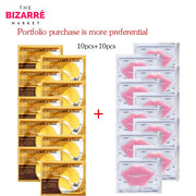 BIZARRE® Anti Aging Eye & Lip Plump Patch Pack (20 Pcs)