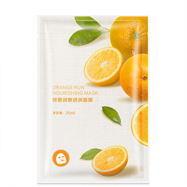 BIZARRE® Skin Care Fruit Sheet Face Masks