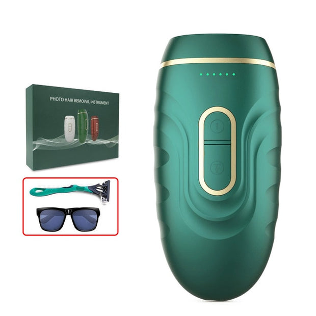 BIZARRE® Body Hair Depilator 990000 Flashes (Laser)