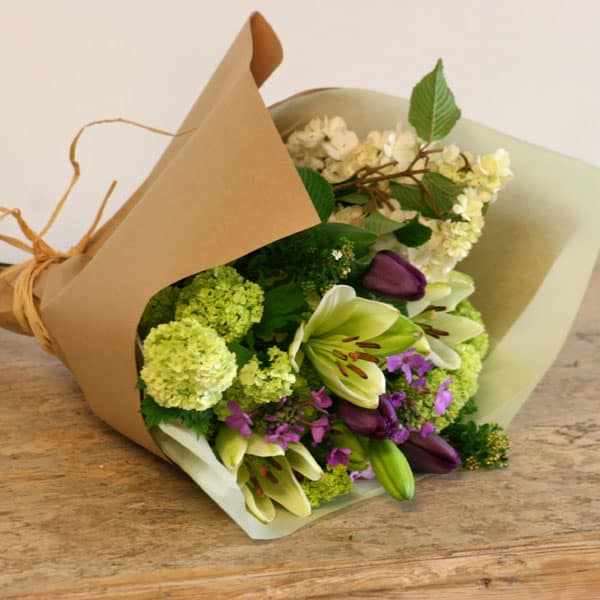 Seasonal Handcrafted Bouquet - Daily floral delivery from Botanica Floral Design