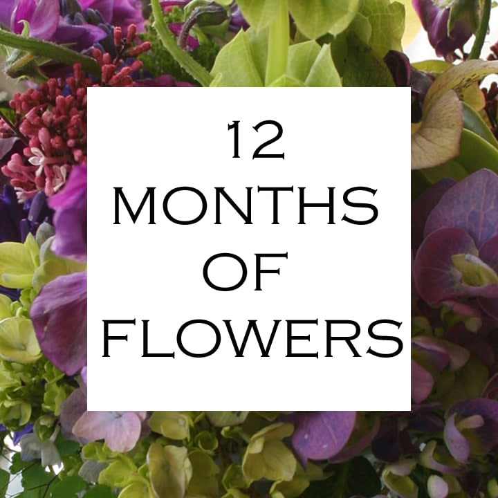 12 Months of Flowers - Daily floral delivery from Botanica Floral Design