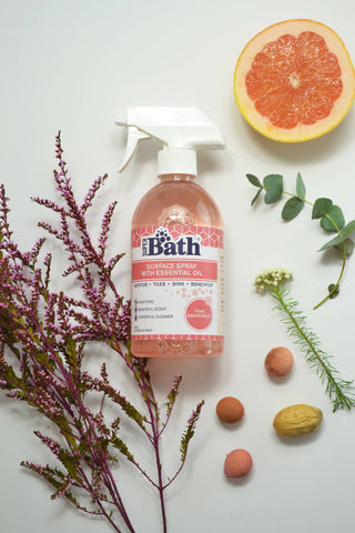 Super Bath.500ml Surfaces spray with Essential Oil-Pink Grapefruit
