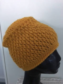 Crocheted Pure Wool/Alpaca Beanie