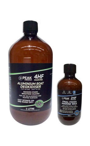 4HF Aluminium Boat Restore And Protect Kit