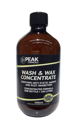 Wash & Wax Concentrate – 500ml