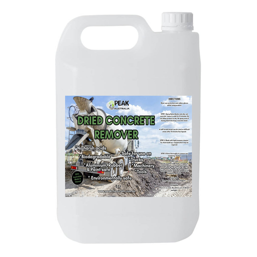 Dried Concrete Remover