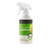Neem oil in spray bottle