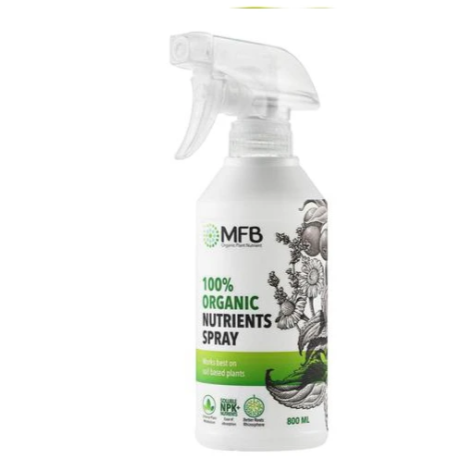MFB 100% organic Nutrients Spray 800ml
