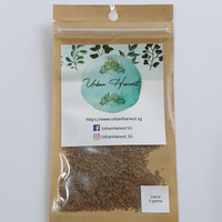 carrot seeds 5 grams pack