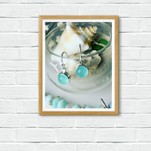 Load image into Gallery viewer, Chalcedony Drop Earrings