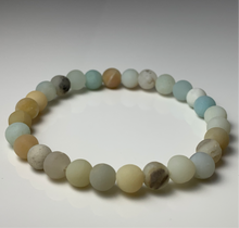 Load image into Gallery viewer, Frosted Amazonite Bracelet