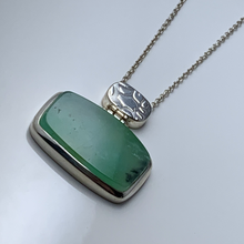 Load image into Gallery viewer, Chrysoprase Pendant