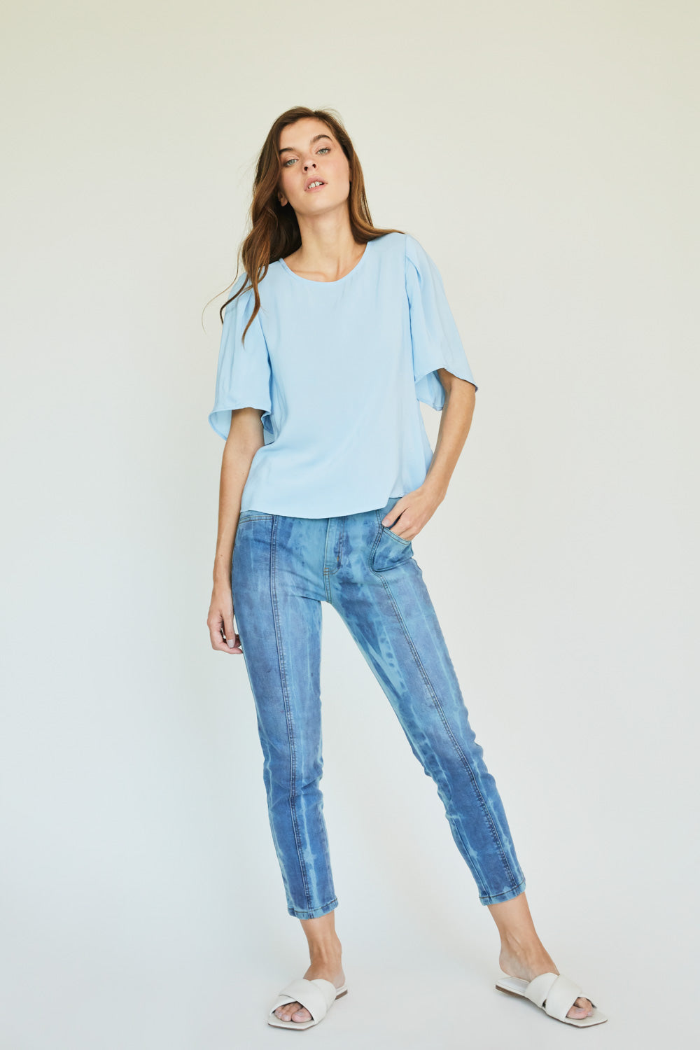 JEANS IBIZA CROPPED