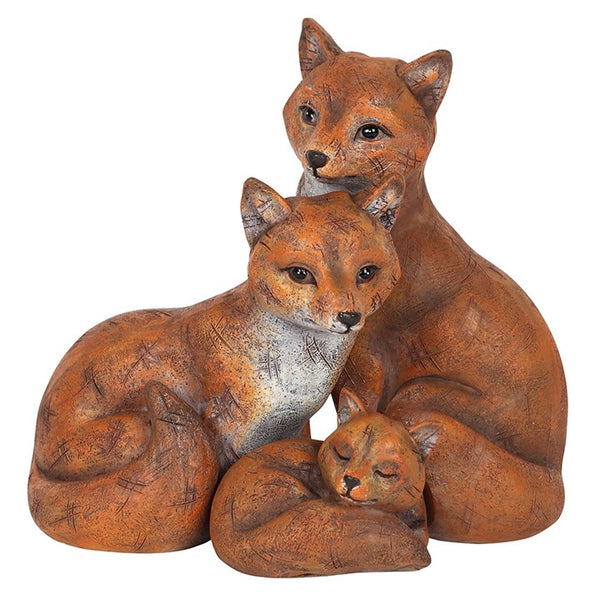 Family of Foxes Ornament