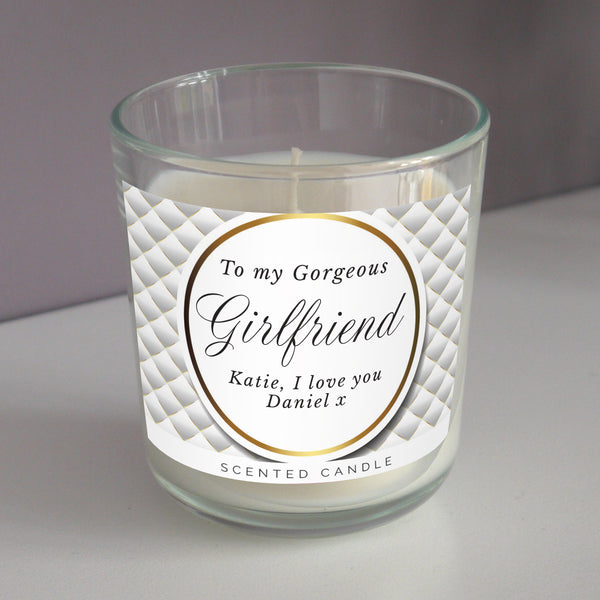 Personalised Opulent Scented Jar Candle