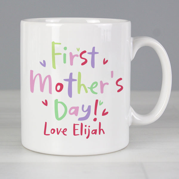 Personalised First Mother's Day Mug