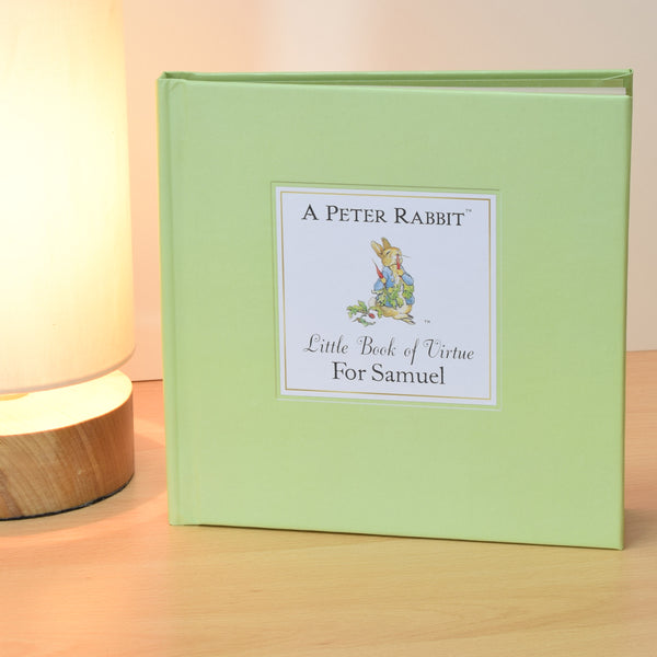 Peter Rabbit's Personalised Little Book of Virtue