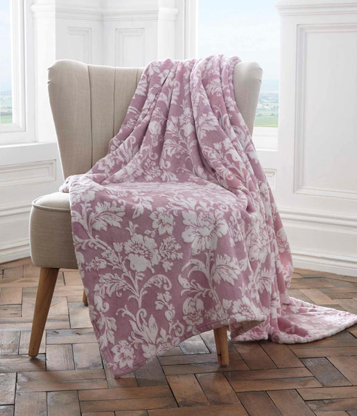 Fleece Throw Pascal 130X170 Cm Lavender