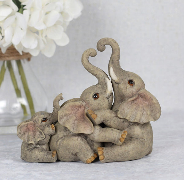 The Bond of Family Elephant Ornament