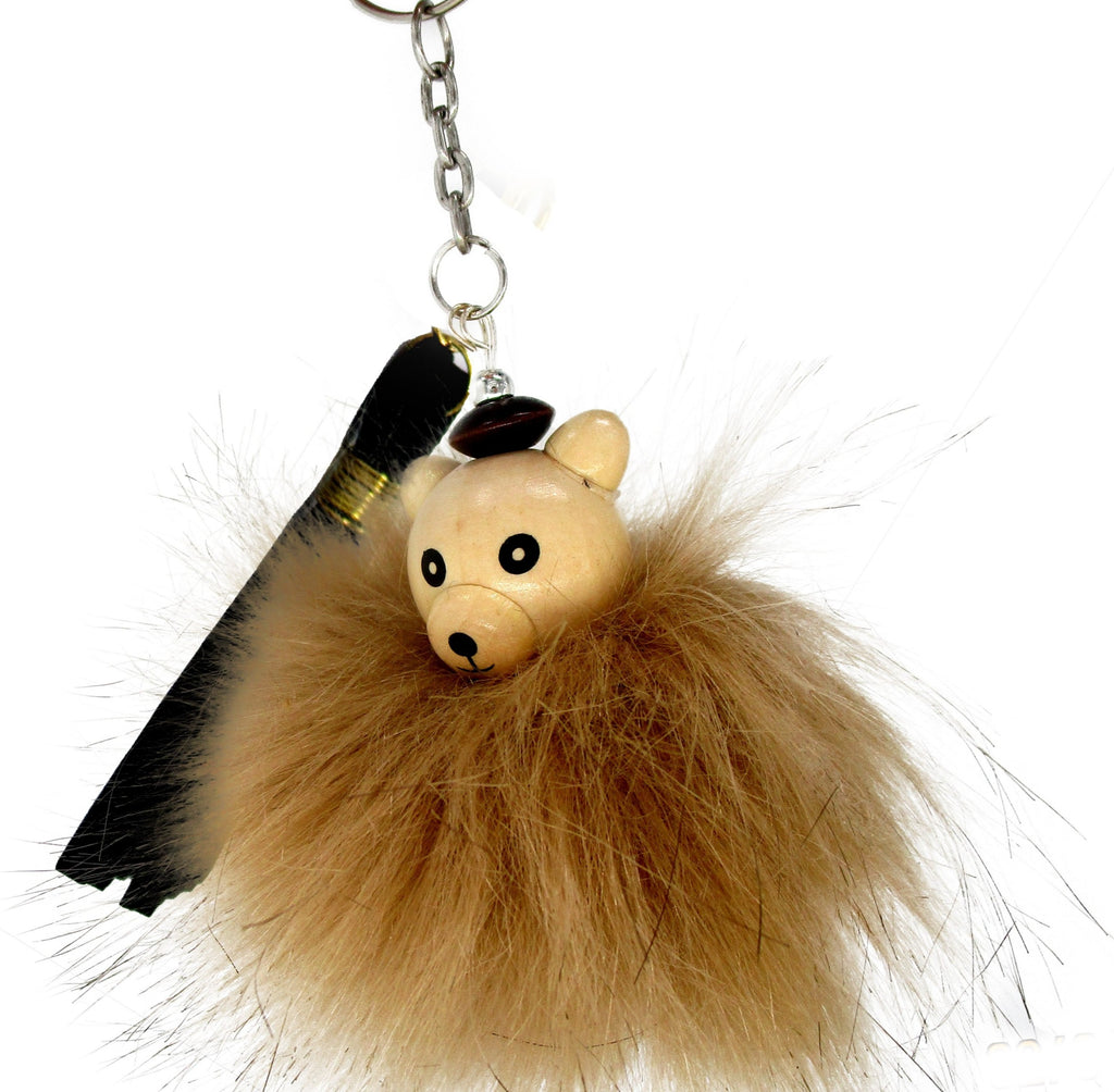 M3430 Fur Bear Keychain