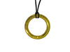 NC4401 Gold Donut Pendant Necklace