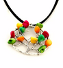 NC4431IP Beaded Tree Pendant
