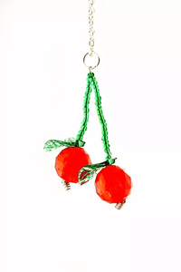NC4428IP Cherry Necklace