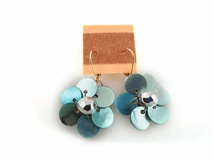 M3412 Flower Earrings