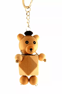 M3426 Teddy Bear Keychain