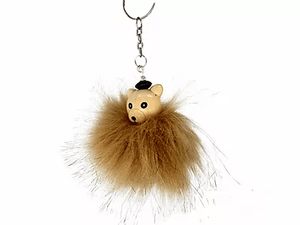 M3430IP Fur Bear Keychain