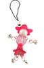 M3410IP Beaded Doll Camera Charm