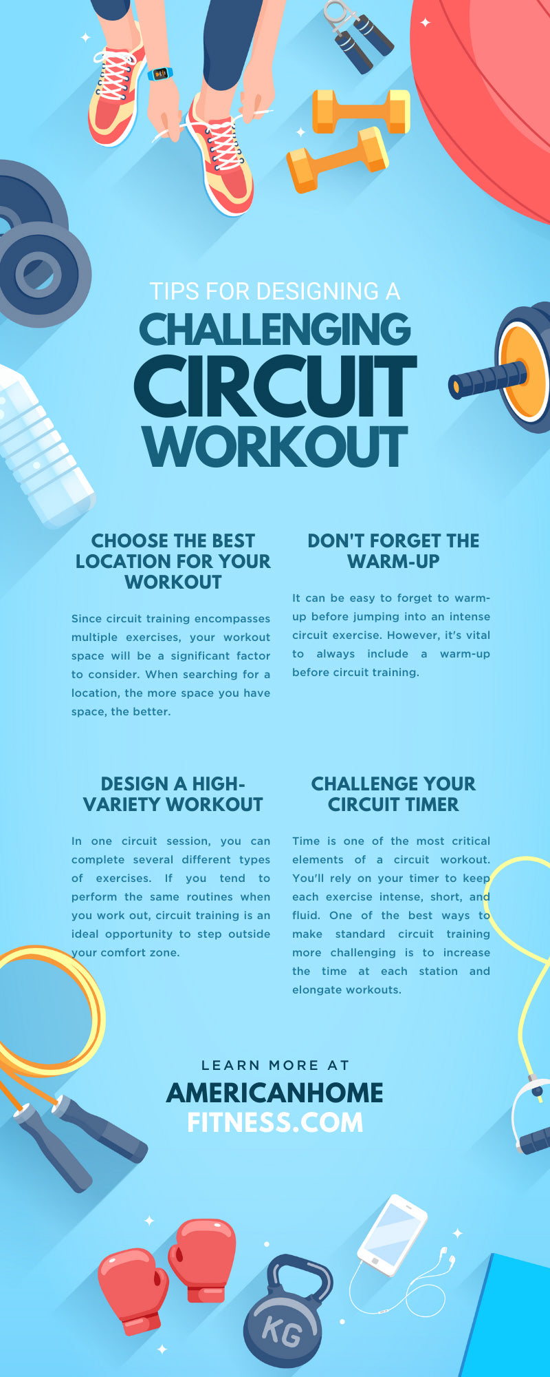 Tips For Designing a Challenging Circuit Workout