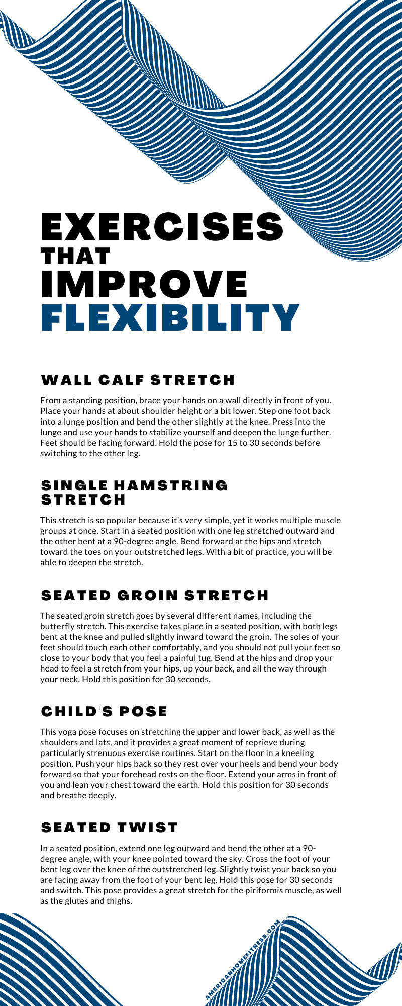 Exercises That Improve Flexibility