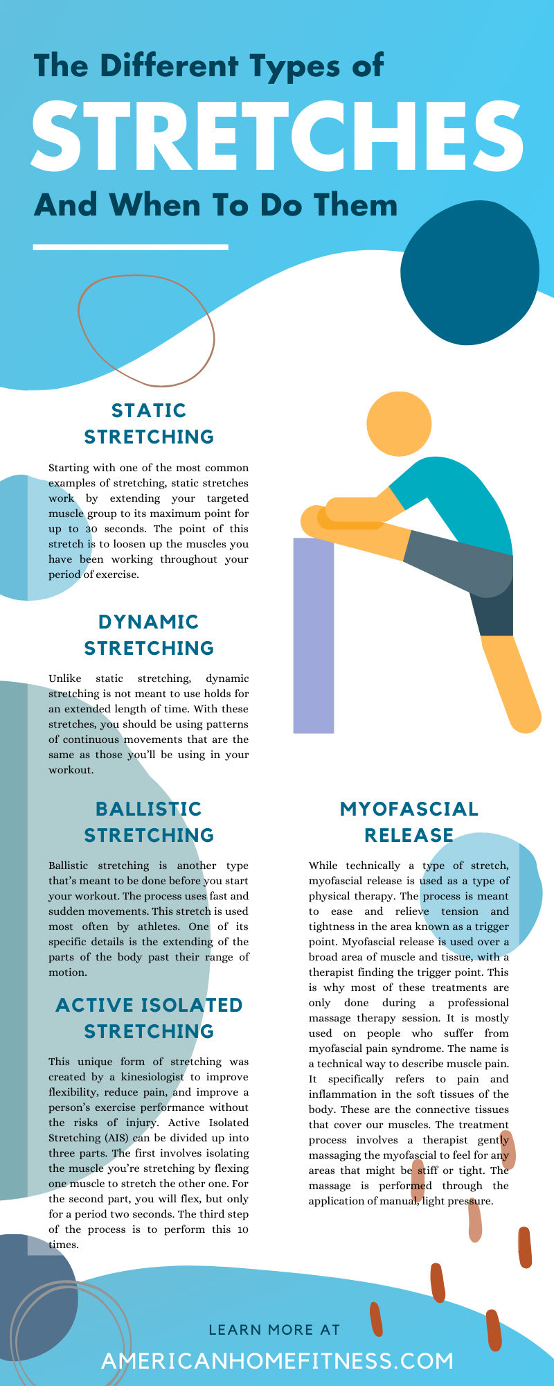 The Different Types of Stretches and When To Do Them