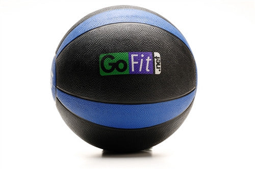 GoFit Rubber Medicine Ball