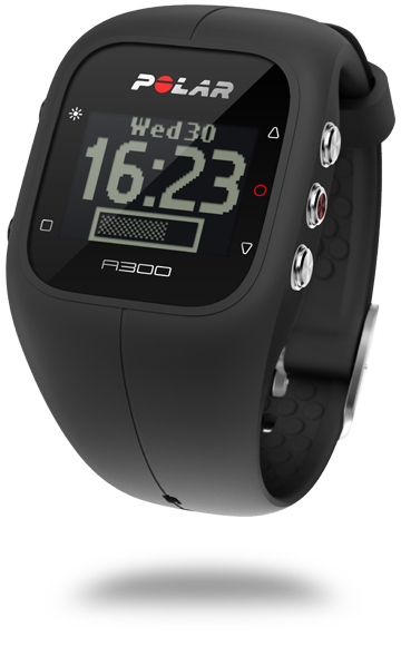 Polar A300 Fitness Watch with Heart Rate Strap