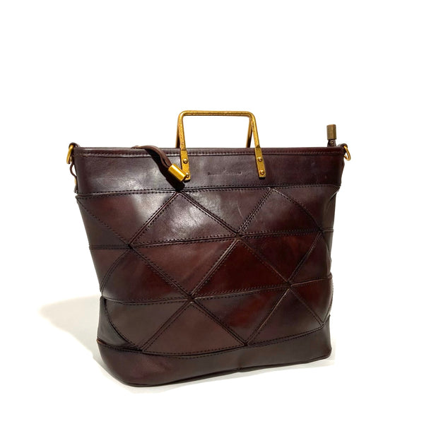 'Origami Bag Large' Chestnut