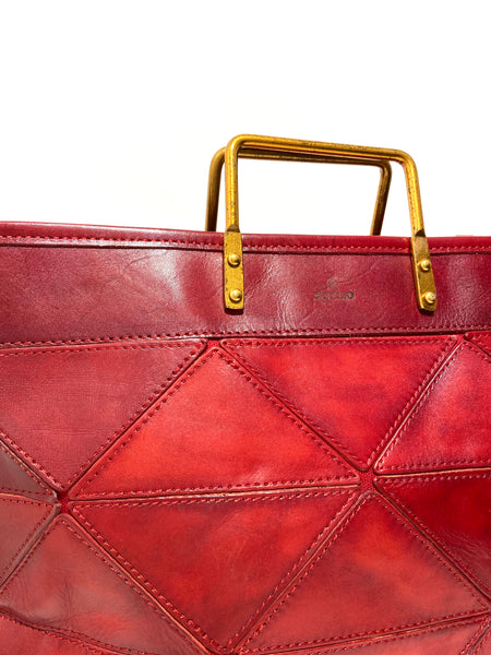 'Origami Bag Large' Red