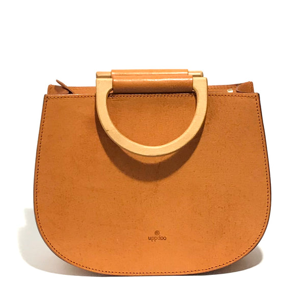 'Zen Saddle Bag' Veggie Tan