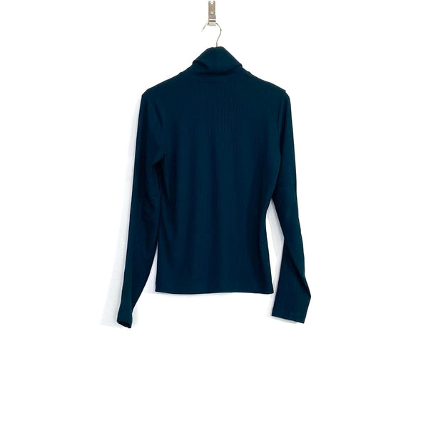 'Juneau Turtleneck' Teal