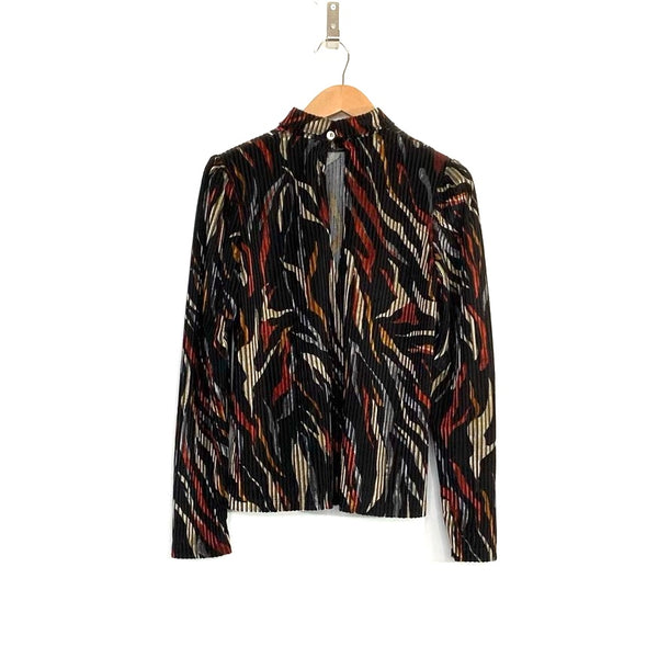 'Nelly Blouse' Red Print