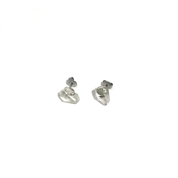 'Herkimer Diamond Studs'