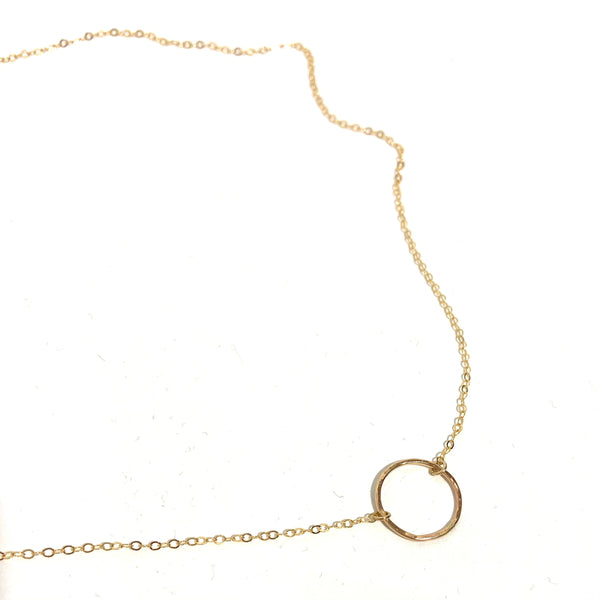 'Open Circle Necklace'
