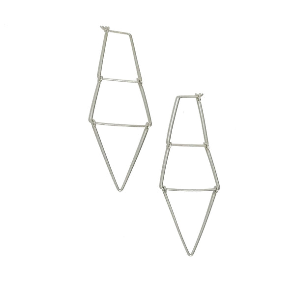 'Kinetic Ladder Earrings'