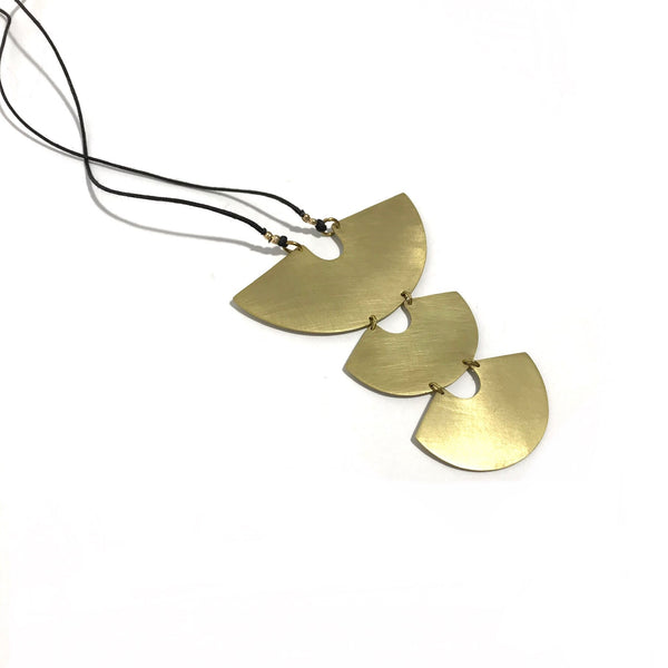 'Protector Necklace' Brass