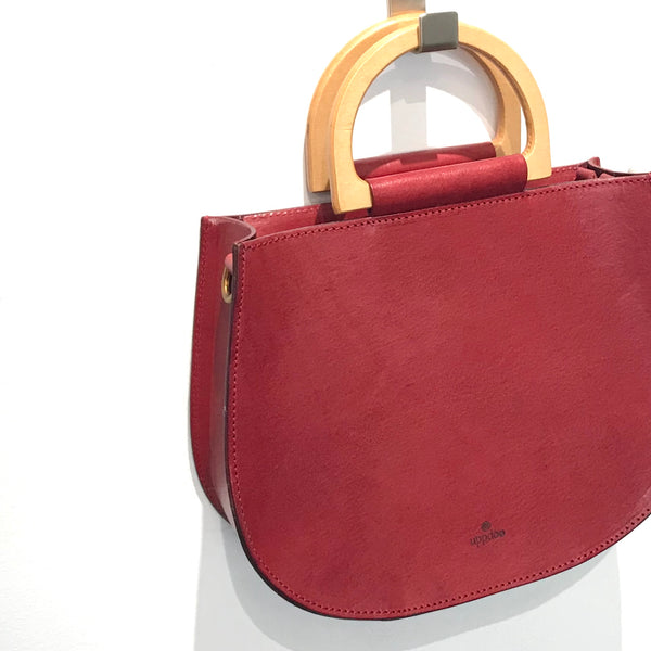 'Zen Saddle Bag' Red